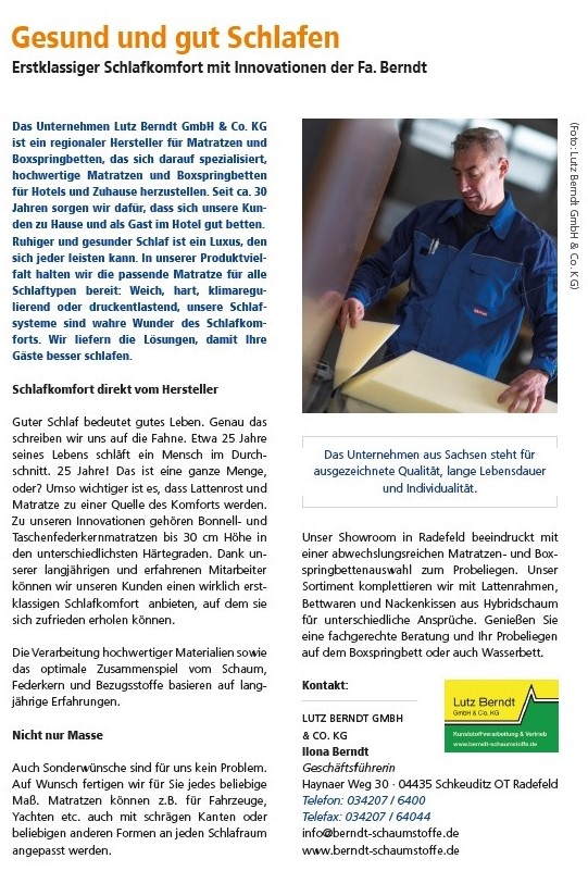 Lutz Berndt Flyer©Stadt Schkeuditz